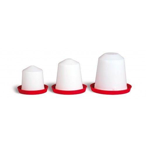 Abreuvoir à siphon pour poule 3L plastique